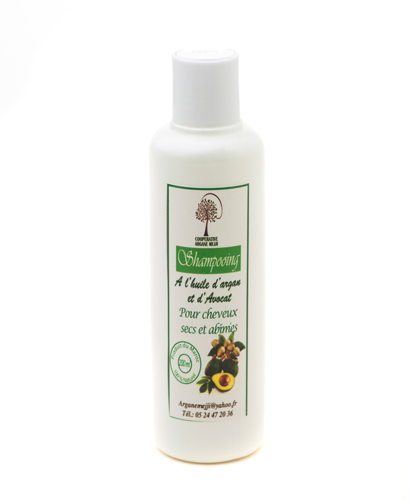 Marockansk Argan Schampo, Avocado 200ml - SH1